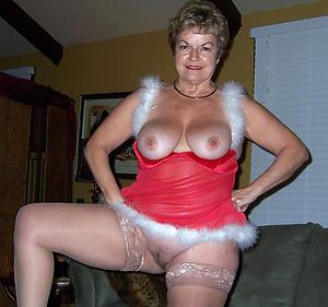 Foto of experienced mature granny