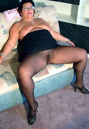 Unmask mature women pantyhose