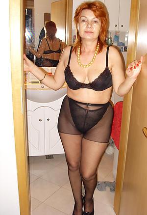 Pretty erotic mature nude photo