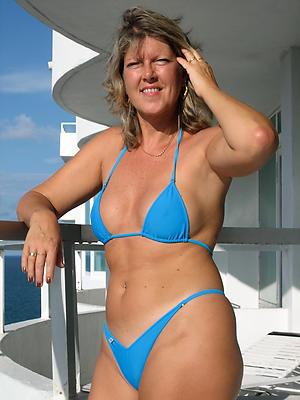 Alluring mature bikini babes pellicle