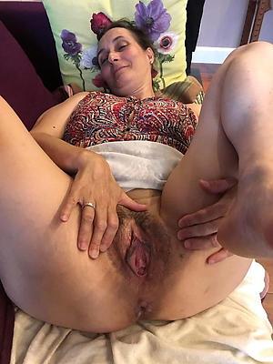 Inexperienced nude unshaved mature women