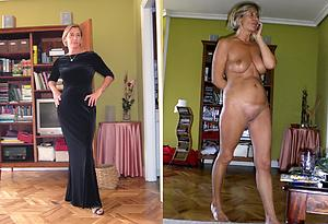 Inviting mature before and after nude pics