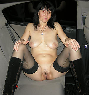 Inadequate mature in car naked pics