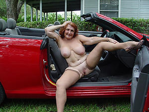 Handsome horny matured with regard to car pics