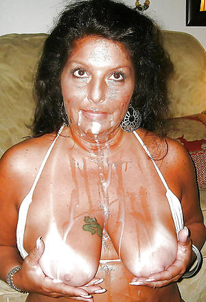 Staggering full-grown women cumshots nude pictures