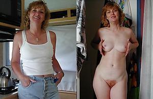 Naughty dressed undressed matures pics