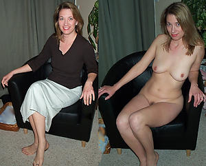 Slutty mature dressed undressed pictures