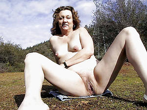 Sopping pussy natural mature nudes