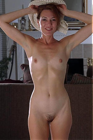 Hot porn of grown-up in one's birthday suit small tits
