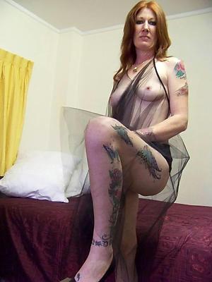 Amateur pics be fitting of tattoed naked mature women