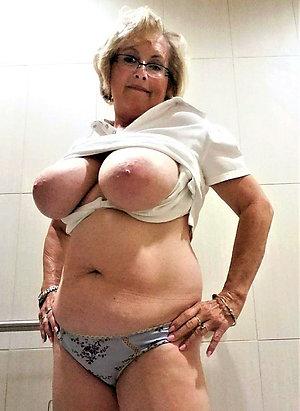 Sexy old chubby women homemade pics