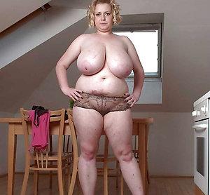 Real chubby white older women