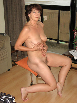 Naughty  older brunette women