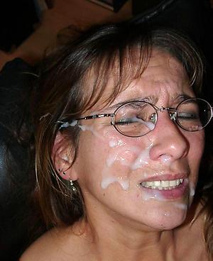 Amateur grown-up facial cumshots pussy pics