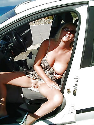 Downhearted matured women in car naked photos