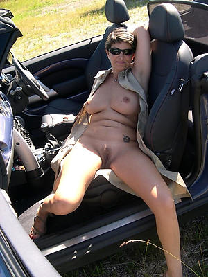 Hottest grown up in car naked pics