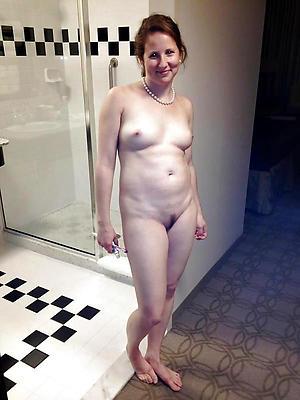 Mature women posing nude