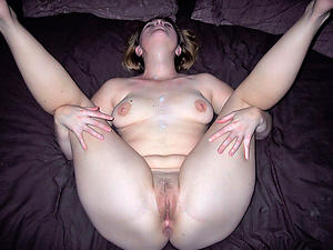 Really mature widely applicable cumshot photos