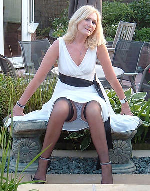 Amateur pics be worthwhile for upskirt mature women