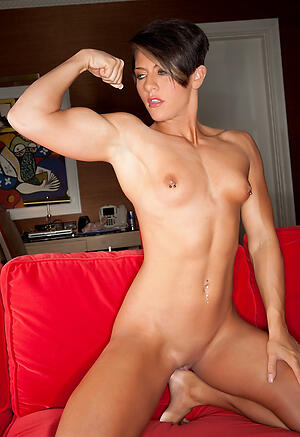 Gorgeous naked muscle mature
