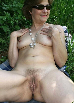 Disappointing mature natural nude women