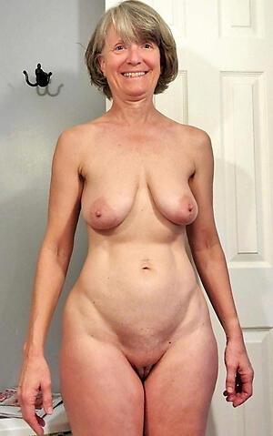 Unadorned hot matured granny photo
