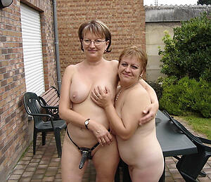 Beautiful nude mature lesbians