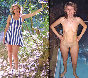 Amazing women dressed undressed photos