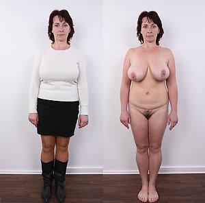 Best pics of mature dressed undressed