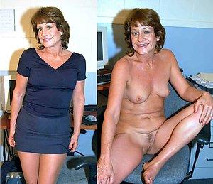Xxx dressed and undressed mature ladies