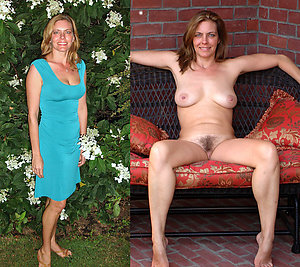 Mature Dressed Undressed Pictures