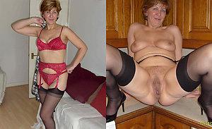 Super sexy dressed undressed matures