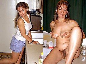 Private dressed undressed mature