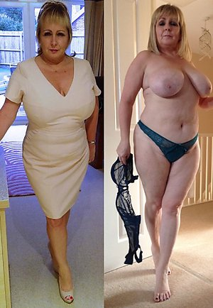 Amazing amateur dressed undressed