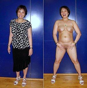 Best pics of dressed undressed matures