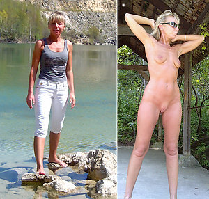 Sexu mature dressed undressed photos