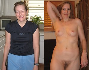 Gorgeous old lady dressed undressed gallery