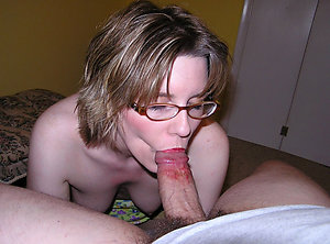 Amazing horny mature milf with glasses