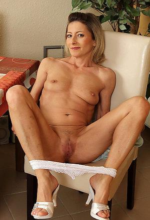 Busty beautiful mature women high heels