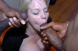 Homemade sexy mature amateur interracial