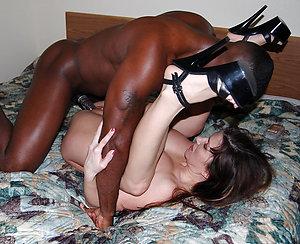 Inexperienced interracial ass fuck pics