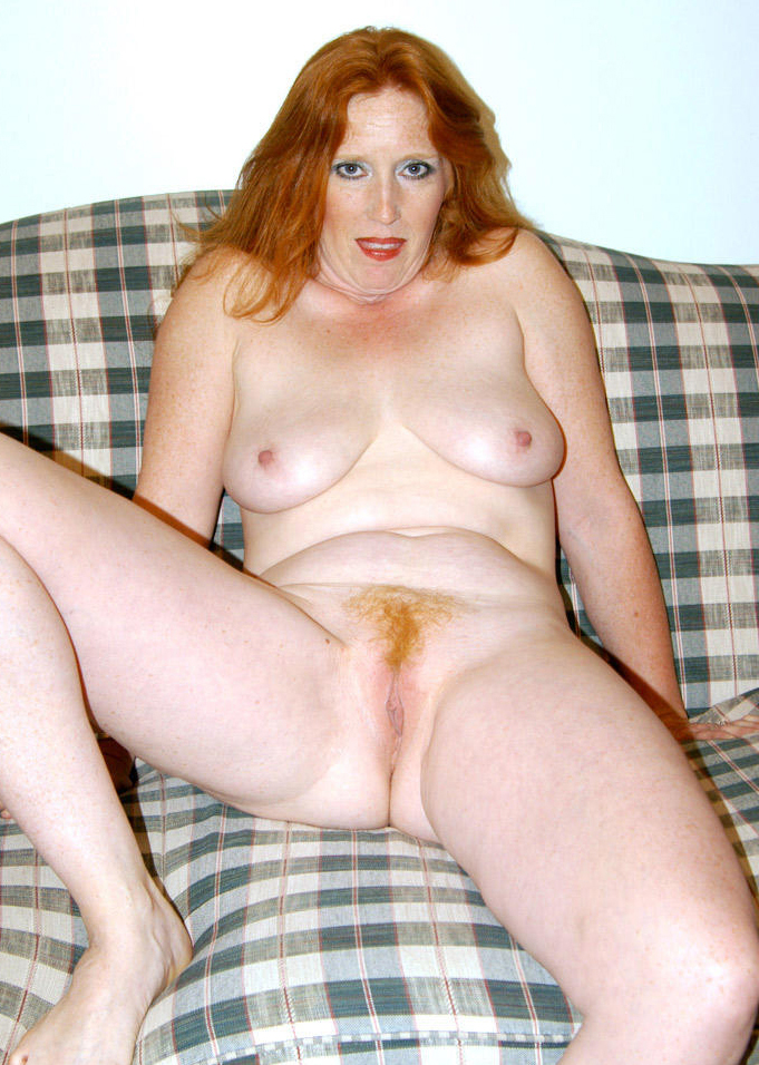 Real redheaded nude older women pics